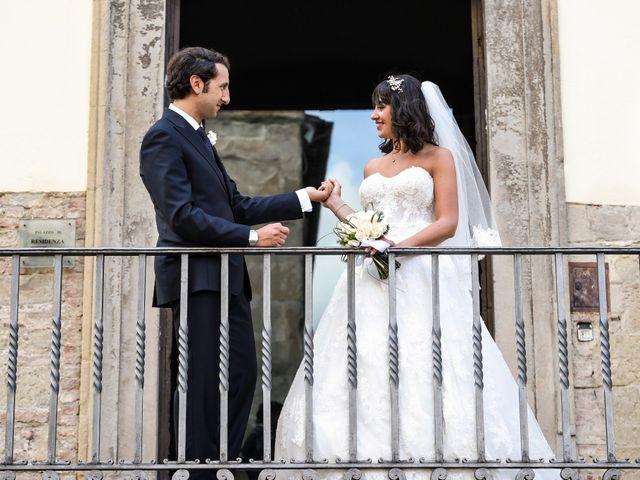 Il matrimonio di Francesco e Francesca a Sansepolcro, Arezzo 49