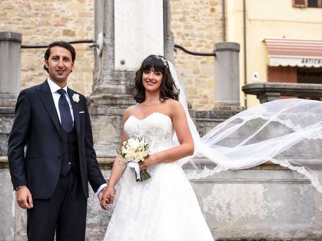 Il matrimonio di Francesco e Francesca a Sansepolcro, Arezzo 53