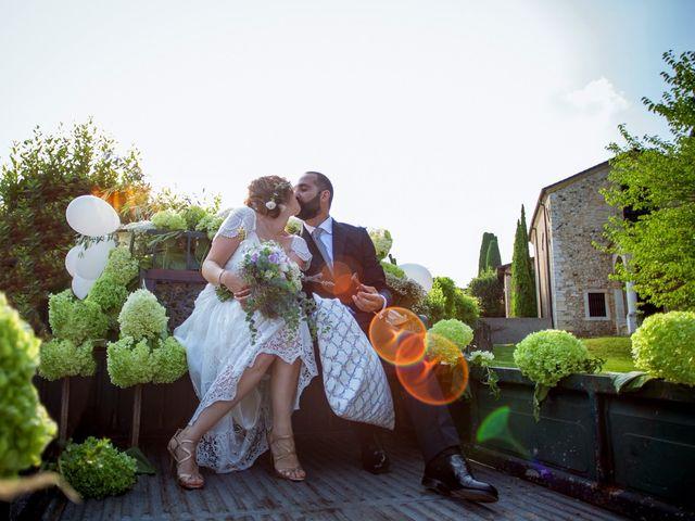 Il matrimonio di Max e Federica a Moniga del Garda, Brescia 21