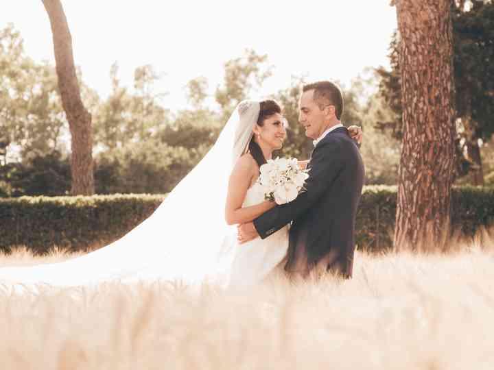 le nozze di Mariella e Marco