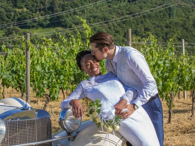 Il matrimonio di Jared e Petra a Prato, Prato 360