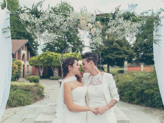 Il matrimonio di Federica e Ilenia a Milano, Milano 66