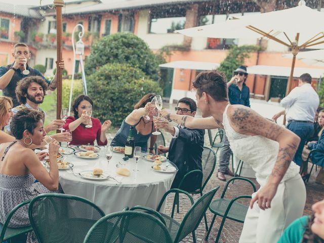 Il matrimonio di Federica e Ilenia a Milano, Milano 76