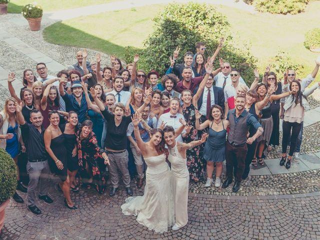 Il matrimonio di Federica e Ilenia a Milano, Milano 94