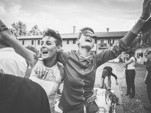 Il matrimonio di Federica e Ilenia a Milano, Milano 120