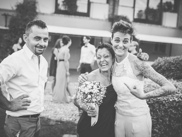 Il matrimonio di Federica e Ilenia a Milano, Milano 131