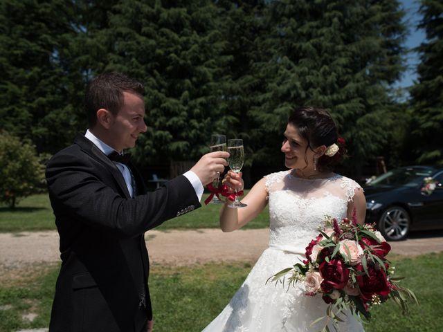 Il matrimonio di Stefano e Giulia a Samarate, Varese 9