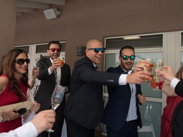 Il matrimonio di Stefano e Giulia a Samarate, Varese 11