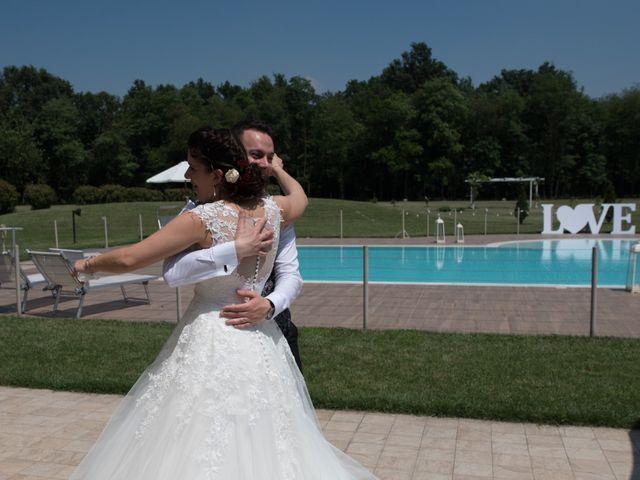 Il matrimonio di Stefano e Giulia a Samarate, Varese 23