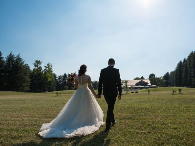 Il matrimonio di Stefano e Giulia a Samarate, Varese 24