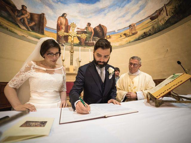 Il matrimonio di Gabriele e Agnese a Casale Marittimo, Pisa 32