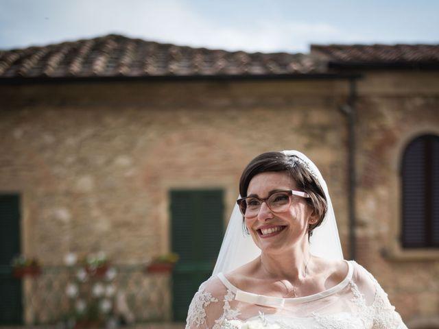 Il matrimonio di Gabriele e Agnese a Casale Marittimo, Pisa 34