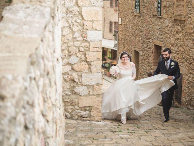 Il matrimonio di Gabriele e Agnese a Casale Marittimo, Pisa 36