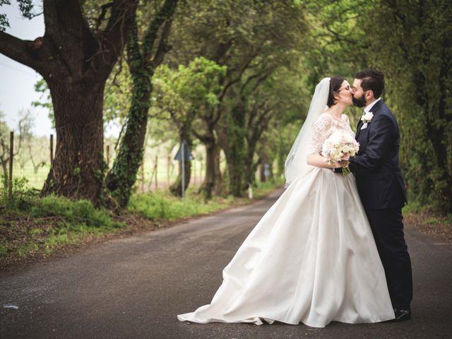 Il matrimonio di Gabriele e Agnese a Casale Marittimo, Pisa 38