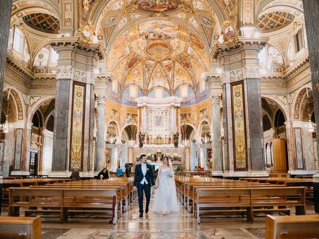 Il matrimonio di Linda e Yannik a Massa Lubrense, Napoli 34