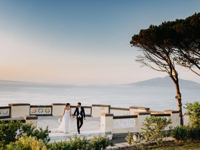 Il matrimonio di Linda e Yannik a Massa Lubrense, Napoli 84