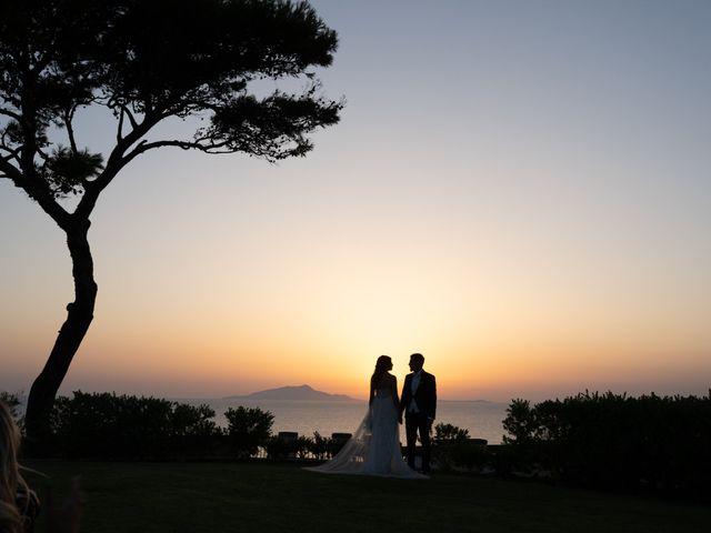 Il matrimonio di Linda e Yannik a Massa Lubrense, Napoli 87