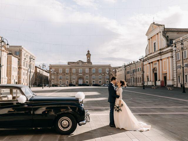 Il matrimonio di Debora e Andrea a Senigallia, Ancona 44