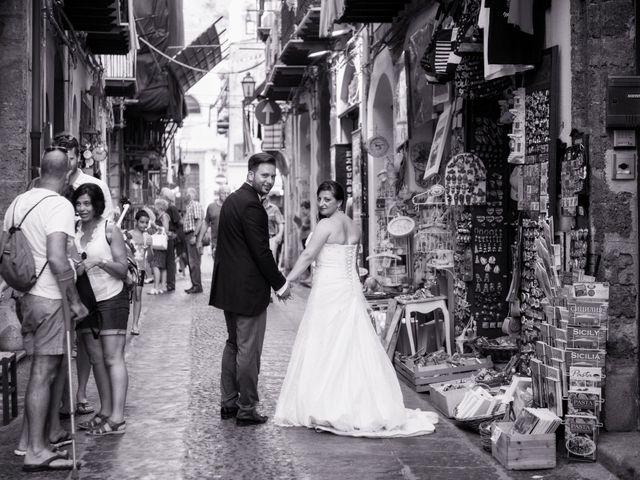 Il matrimonio di Giuseppe e Valeia a Cefalù, Palermo 23