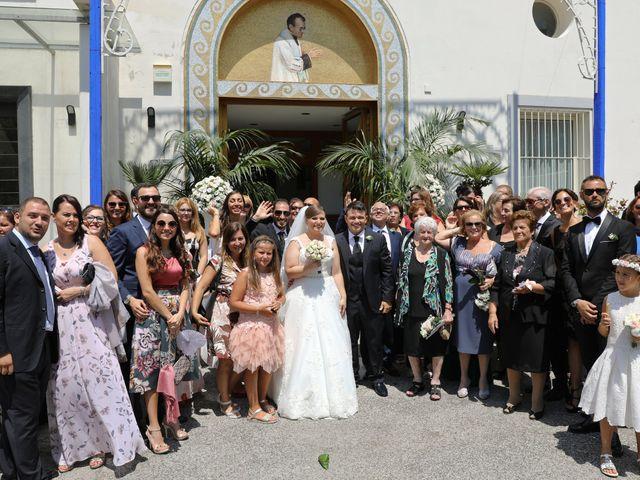 Il matrimonio di Carmen e Francesco a Pozzuoli, Napoli 33