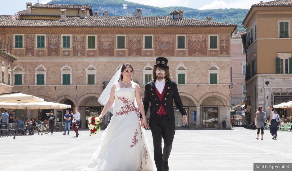 Il matrimonio di Nathan e Elisa a Ascoli Piceno, Ascoli Piceno