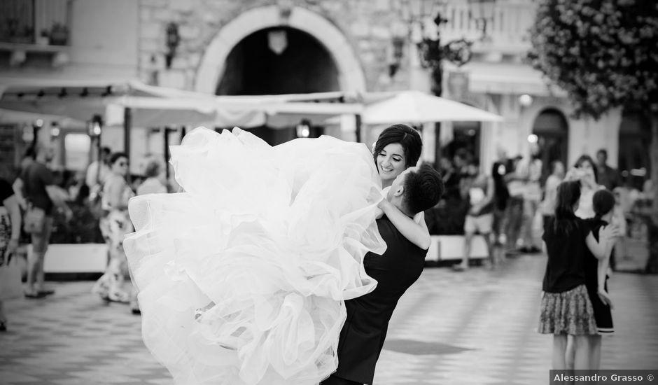 Il matrimonio di Stefania e Giuseppe a Fiumefreddo di Sicilia, Catania
