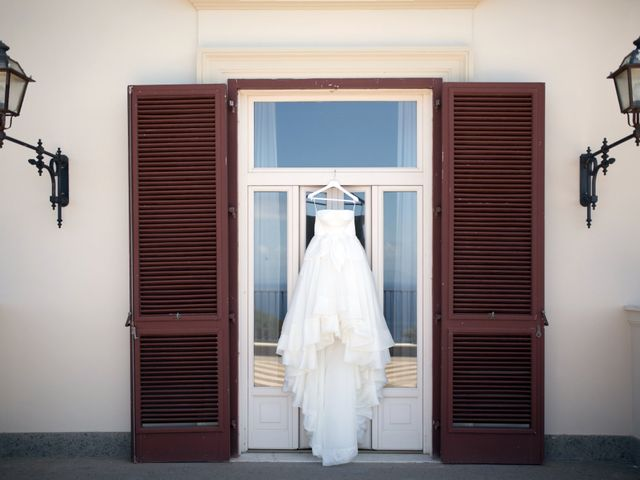Il matrimonio di Claudio e Angela a Sorrento, Napoli 1