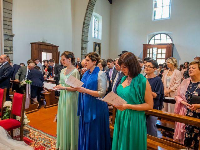 Il matrimonio di Davide e Ilaria a Carvico, Bergamo 22