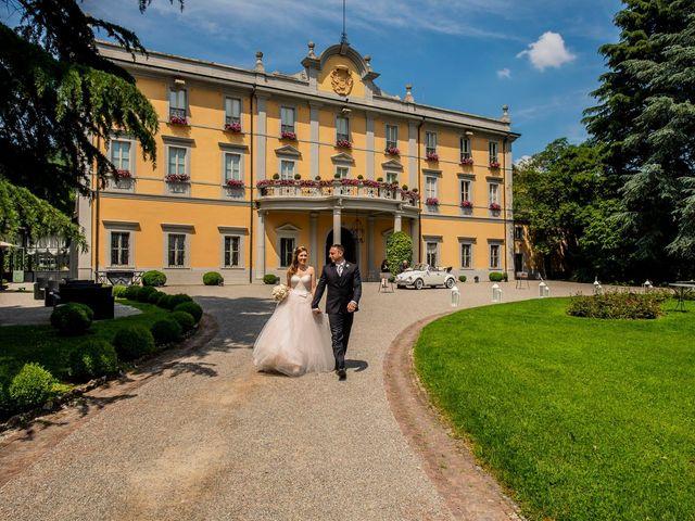 Il matrimonio di Davide e Ilaria a Carvico, Bergamo 37