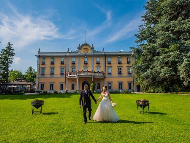 Il matrimonio di Davide e Ilaria a Carvico, Bergamo 73