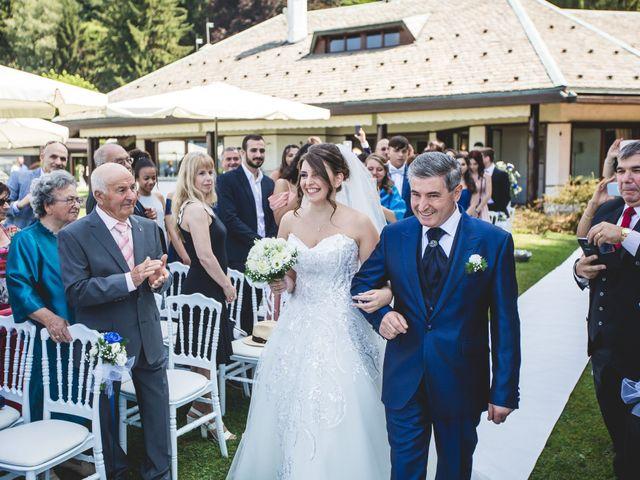 Il matrimonio di Matteo e Jessica a Besozzo, Varese 12
