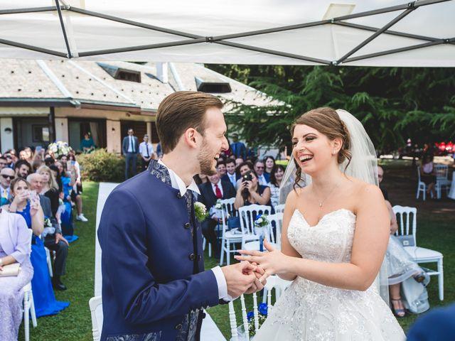 Il matrimonio di Matteo e Jessica a Besozzo, Varese 14