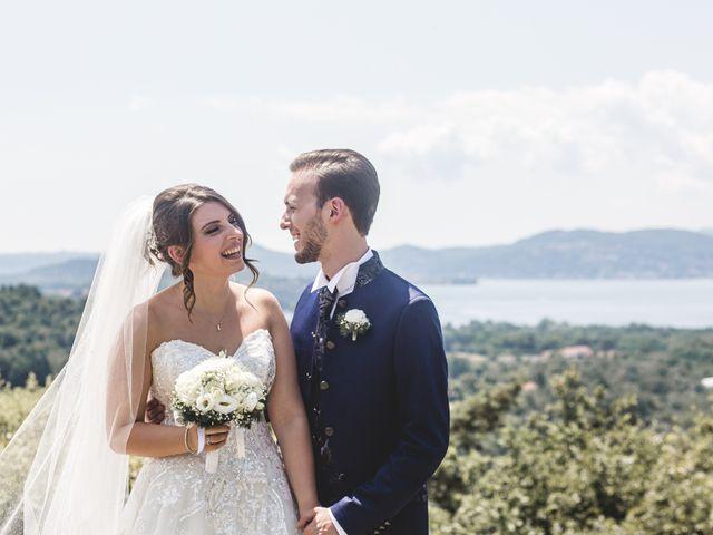 Il matrimonio di Matteo e Jessica a Besozzo, Varese 19
