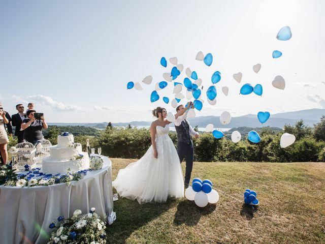 Il matrimonio di Matteo e Jessica a Besozzo, Varese 25