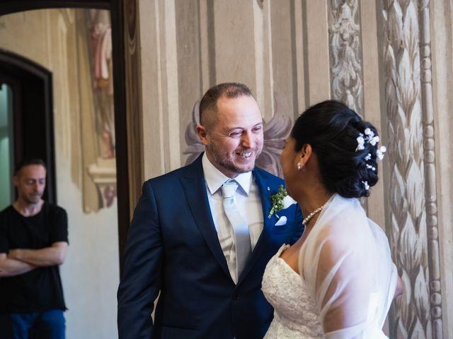 Il matrimonio di Andrea e Marisol a Monza, Monza e Brianza 20