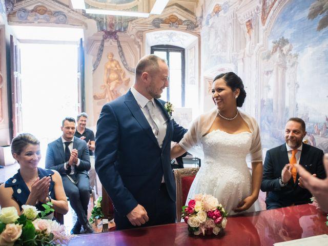 Il matrimonio di Andrea e Marisol a Monza, Monza e Brianza 22