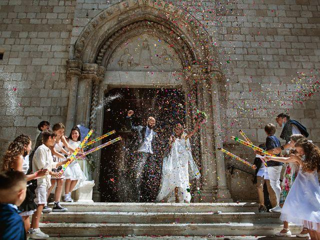 Il matrimonio di Alessio e Antonella a Pescasseroli, L'Aquila 38