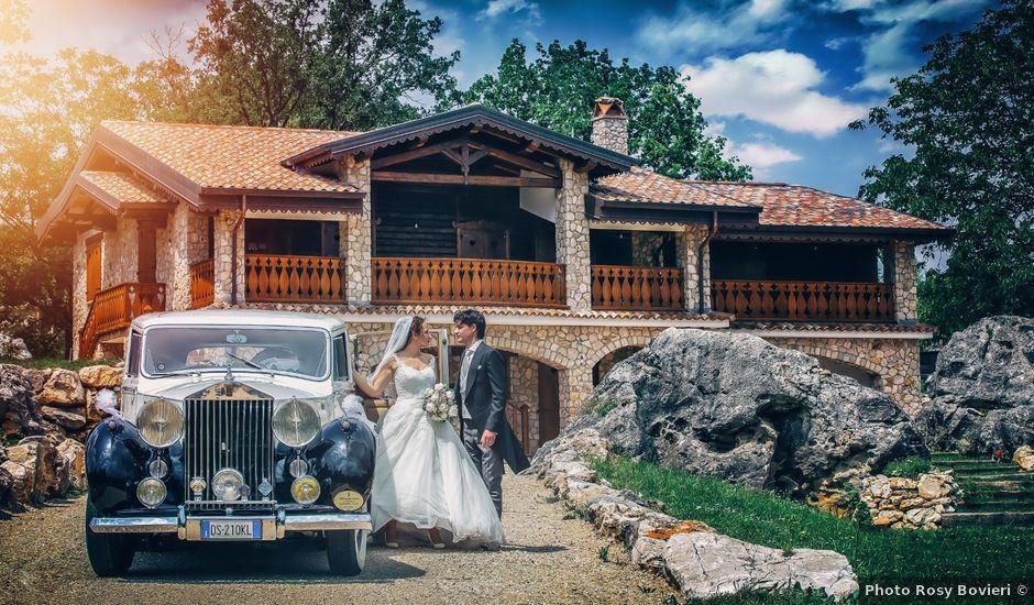 Il matrimonio di Tommaso e Claudia a Bassiano, Latina