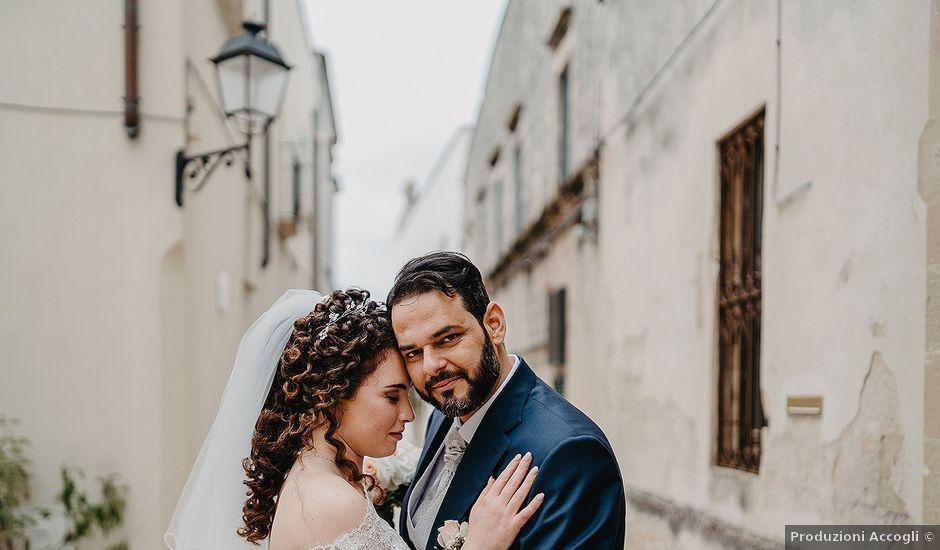 Il matrimonio di Martina e Donato a Otranto, Lecce