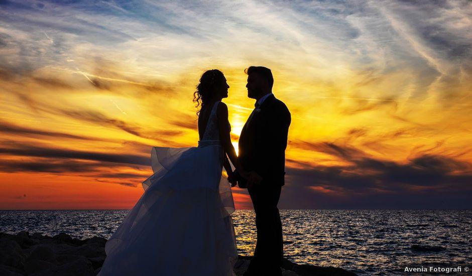 Il matrimonio di Antonio e Luigia a Lusciano, Caserta