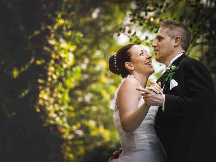 le nozze di Cinzia e Claudio