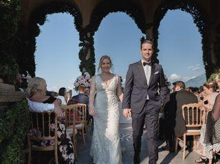 Le nozze di Emma e Derek