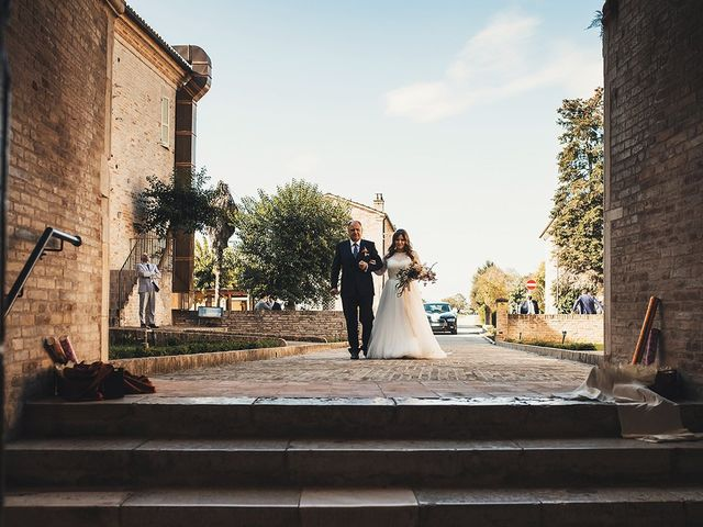 Il matrimonio di Fabio e Giulia a Tolentino, Macerata 14