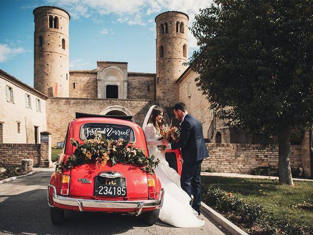 Il matrimonio di Fabio e Giulia a Tolentino, Macerata 25