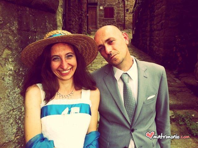 Il matrimonio di Leonardo e Ilaria a Castel San Niccolò, Arezzo 7