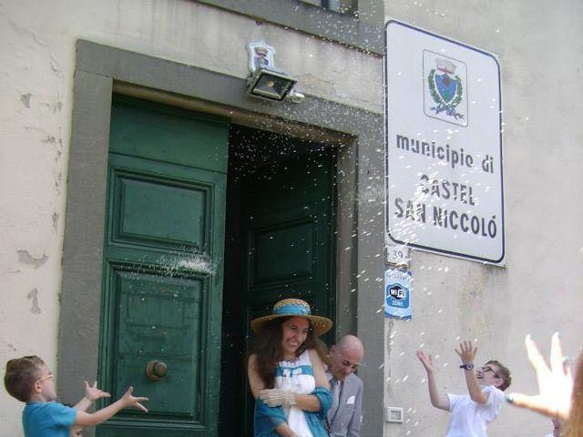 Il matrimonio di Leonardo e Ilaria a Castel San Niccolò, Arezzo 1