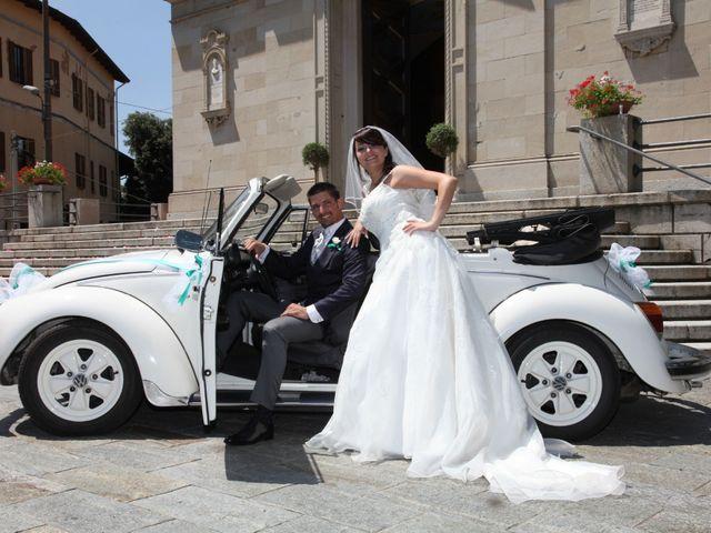 Il matrimonio di Giulio e Consuelo a Ternate, Varese 25