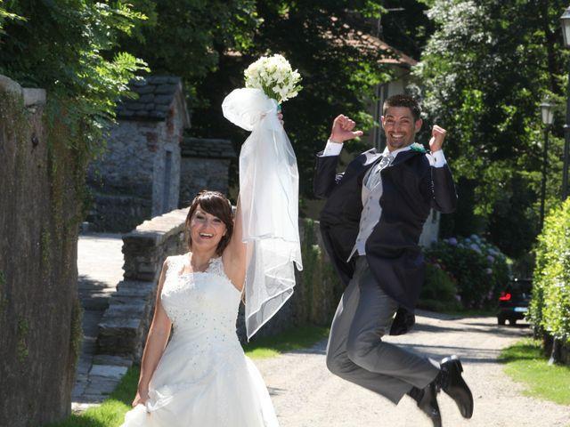 Il matrimonio di Giulio e Consuelo a Ternate, Varese 1