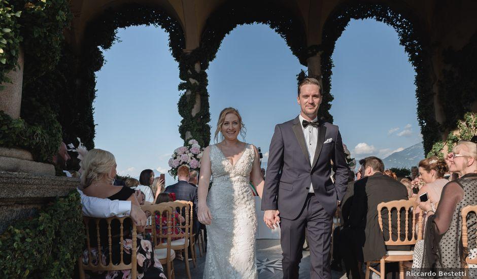 Il matrimonio di Derek e Emma a Bellagio, Como