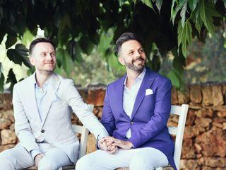 Le nozze di Naigel e Geoff
